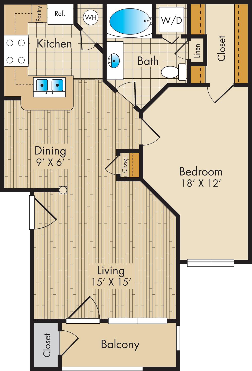 floor plans post oak park apartments